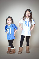 LIly and Bella | Lions Fans